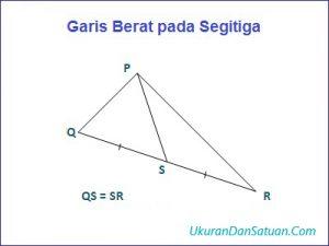 Garis berat pada segitiga