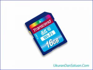 SD card 16 gigabyte