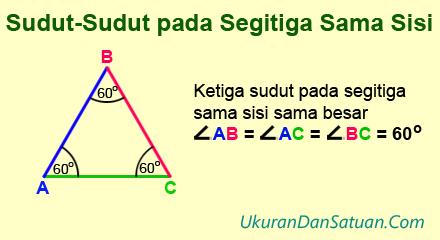 Sudut-sudut pada segitiga sama sisi