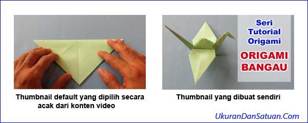 Manfaat membuat sendiri thumbnail video YouTube
