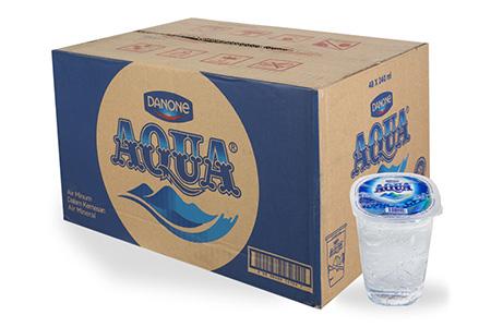 1 Karton Aqua Gelas Isi 48 Cup