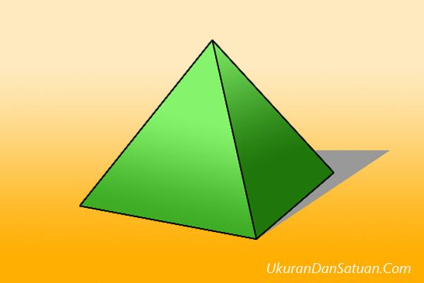 Piramida atau limas bujursangkar