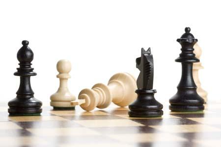 Papan catur dan buah catur