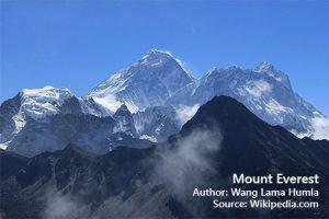 Berapa tinggi Mount Everest
