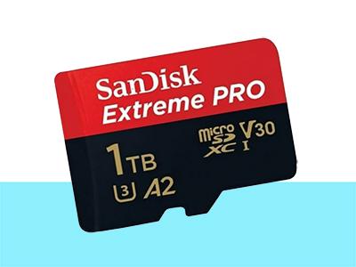 Kartu memori 1 terabyte