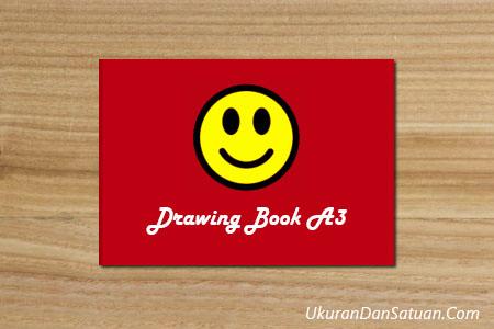 Buku gambar A3